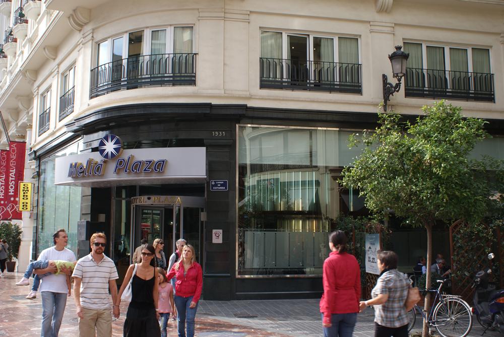 Hotel Meliá Plaza en el centro de Valencia