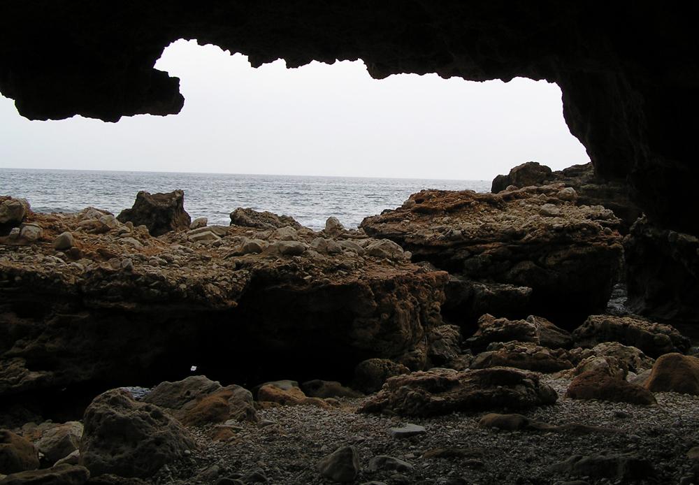 Cueva en Les Rotes - Denia