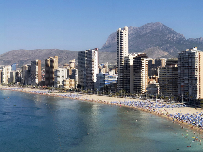 Benidorm para el turismo en Valencia