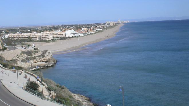 Playa de Cullera para el turismo