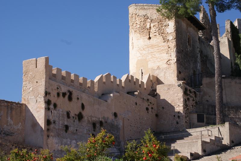 Castillo en Xàtiva turismo